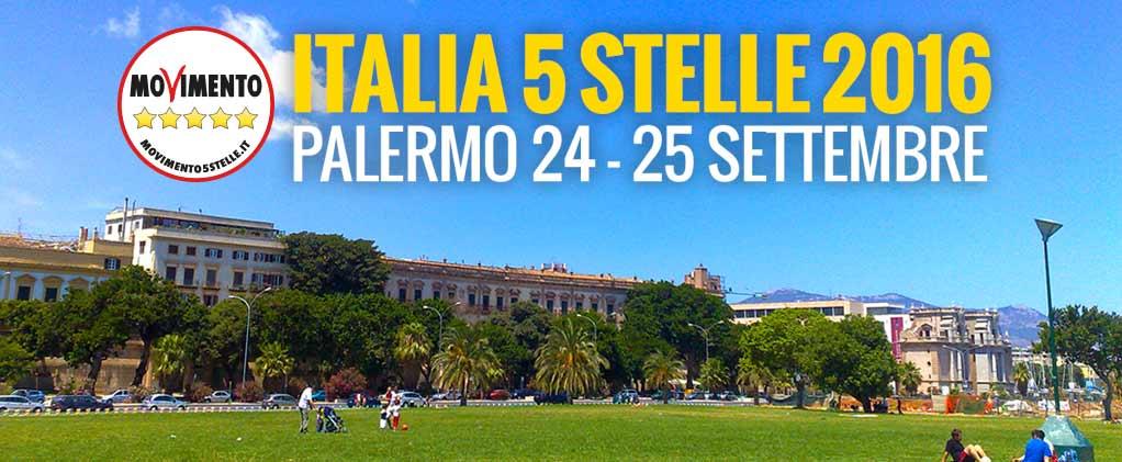 Palermo 24-25 Settembre: Italia 5 Stelle2016