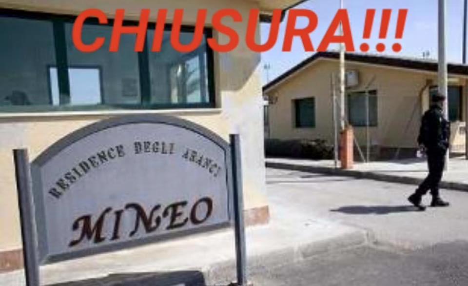 """Mineo:""""Il Centro vachiuso"""""""
