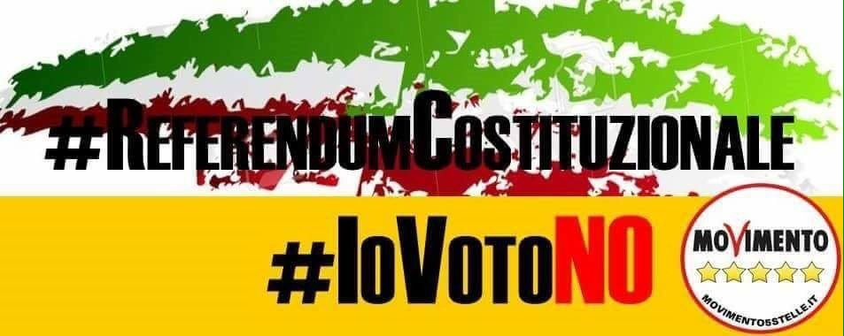 Al Referendum Io voto 'No'