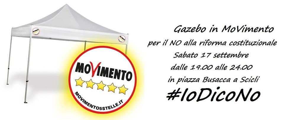 Marialucia Lorefice domani a Scicli per 'Io Dico No' Gazebo inMovimento