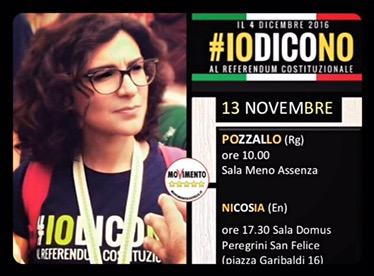 #IoDicoNo- Domenica a Pozzallo eNicosia