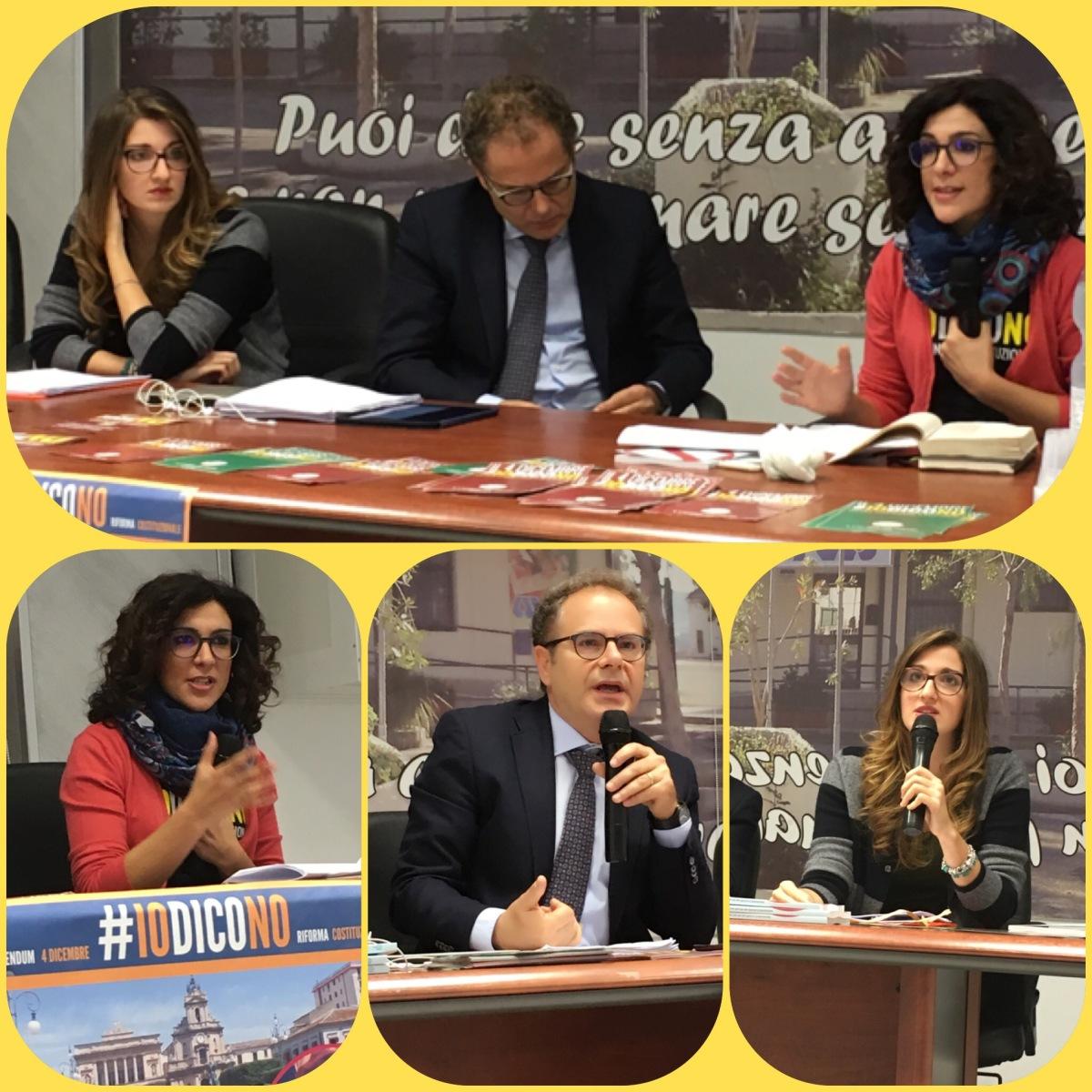 Vittoria, Conferenza Sala Avis#Iodicono