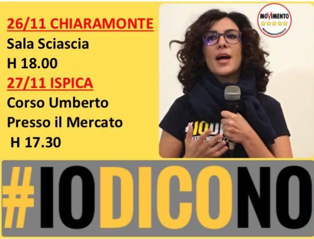 Marialucia Lorefice nel weekend a Chiaramonte e Ispica,#IODICONO