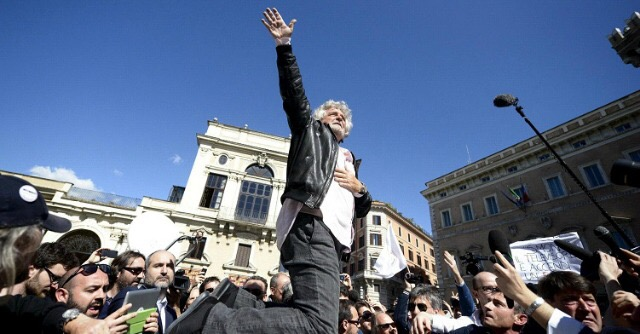 Flash mob pro democrazia