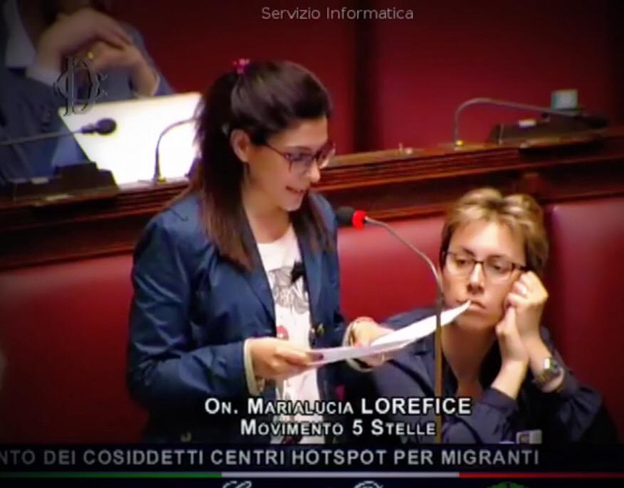Hot Spot e ricollocamenti, mozione M5S, dep. Lorefice: «In Sicilia altri due hot spot. Il Governo asservito all'Europa che neppure rispetta gli accordi»