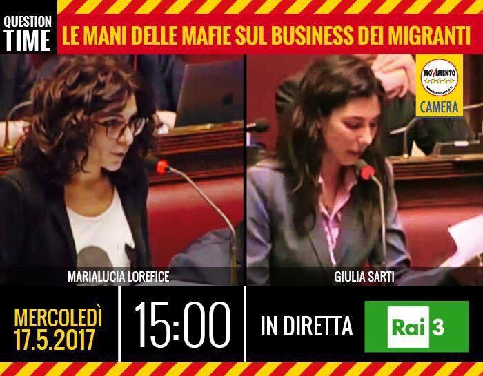 Migranti, mafie e business. Alle 15 in diretta il question time con Lorefice eSarti