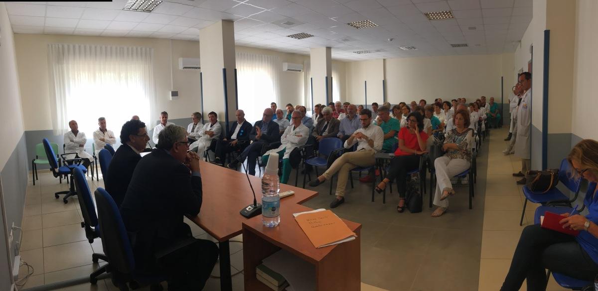 Ospedali Asp 7, Lorefice e Ferreri: « Bene l'inizio del Commissario Ficarra. Saremo vigili. La nostra sanità merita il meglio. Abbiamo delle eccellenze e vannovalorizzate»