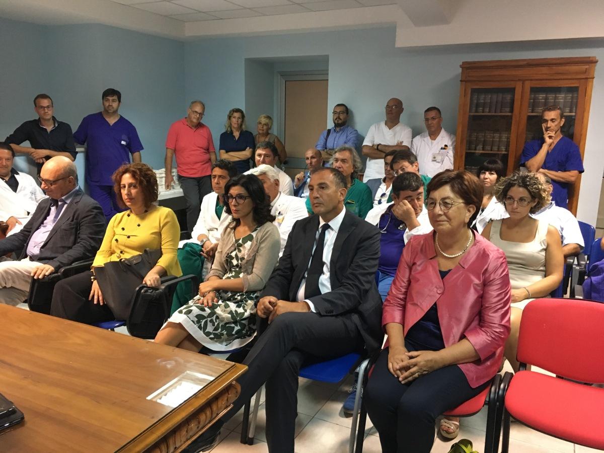 Ragusa, ospedali Civile e  Paternò Arezzo. Anche la deputazione M5S all'incontro di Ficarra con medici einfermieri