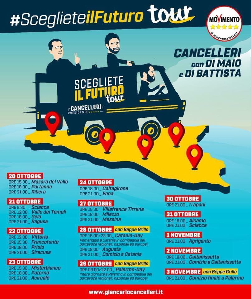 A Ragusa e a Vittoria #SceglieteIlFuturoTour