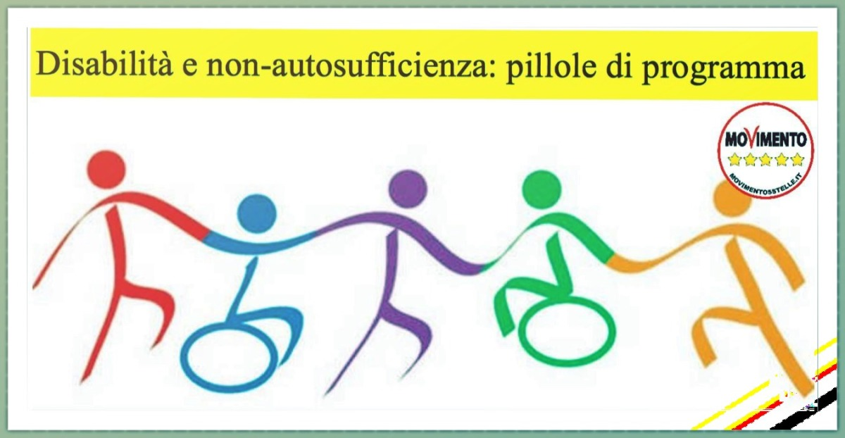 Disabilità e non autosufficienza: Pillole di programma del MoVimento 5Stelle