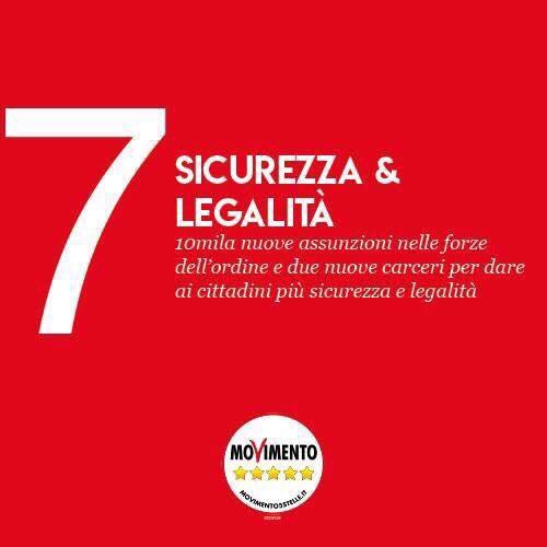 #SICUREZZA E #LEGALITÀ