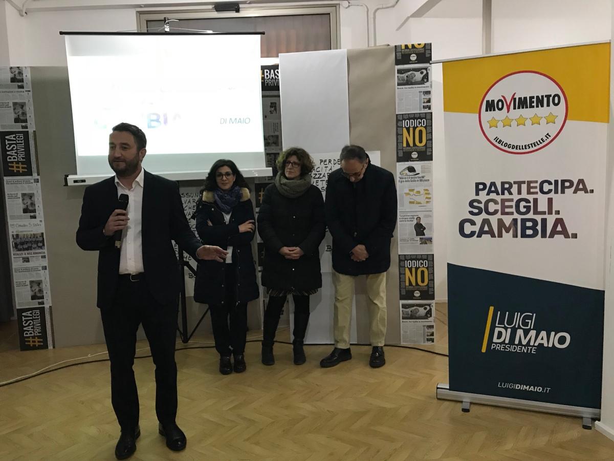 Comiso, Marialucia Lorefice con Pisani e Cancelleri #PartecipaScegliCambia
