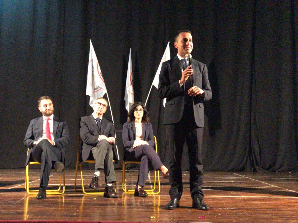 """#Rally Di Maio: A Scicli per presentare candidati e programma Dep. Lorefice: """"Scicli emblema di una Sicilia che deverisplendere"""""""
