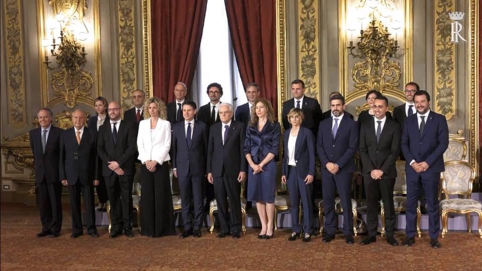 La squadra dei Ministri del M5S nel #GovernoDelCambiamento
