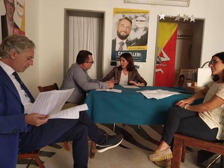 Le parlamentari Lorefice e Marzana incontrano Confartigianato e CroceRossa