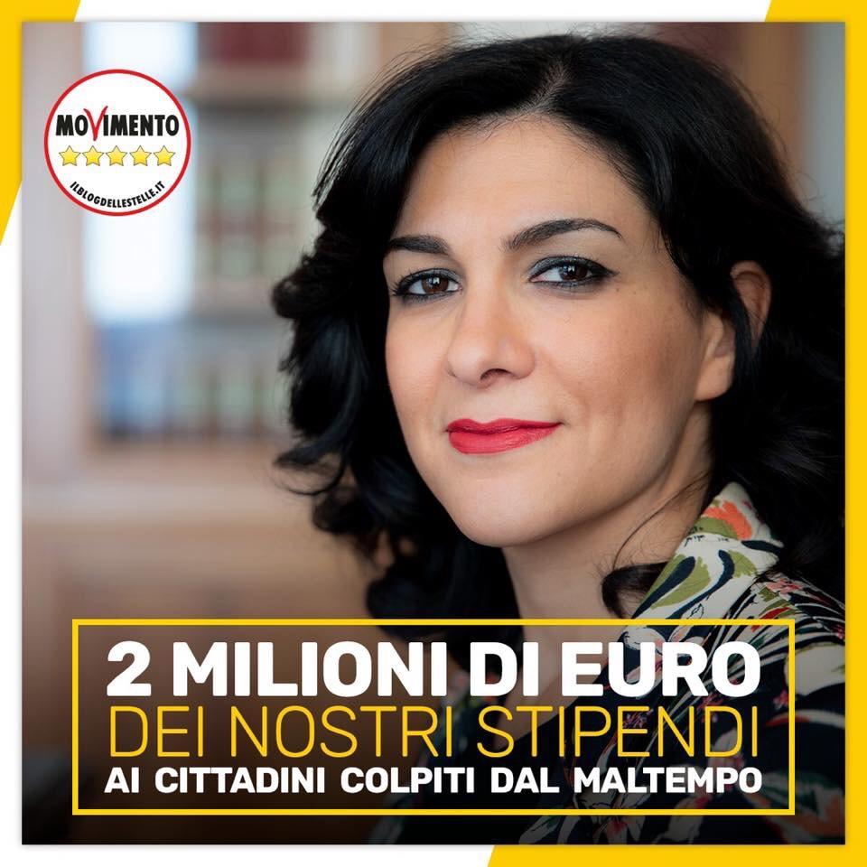 Maltempo, i parlamentari M5S donano 2 milioni di euro.   Puoi partecipare anche tu alla raccoltafondi
