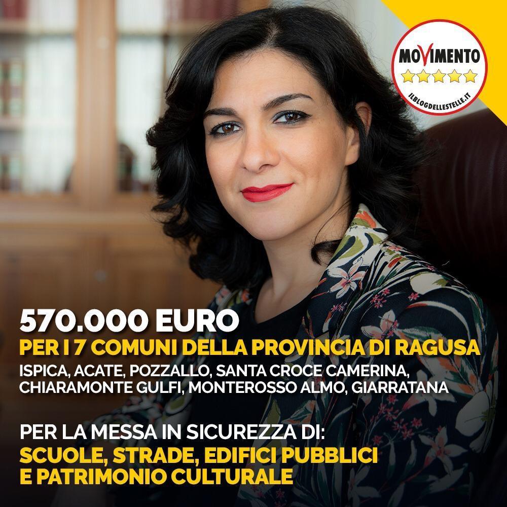 """400 milioni ai piccoli Comuni, Lorefice: """"570 mila euro in arrivo nella provincia diRagusa"""""""