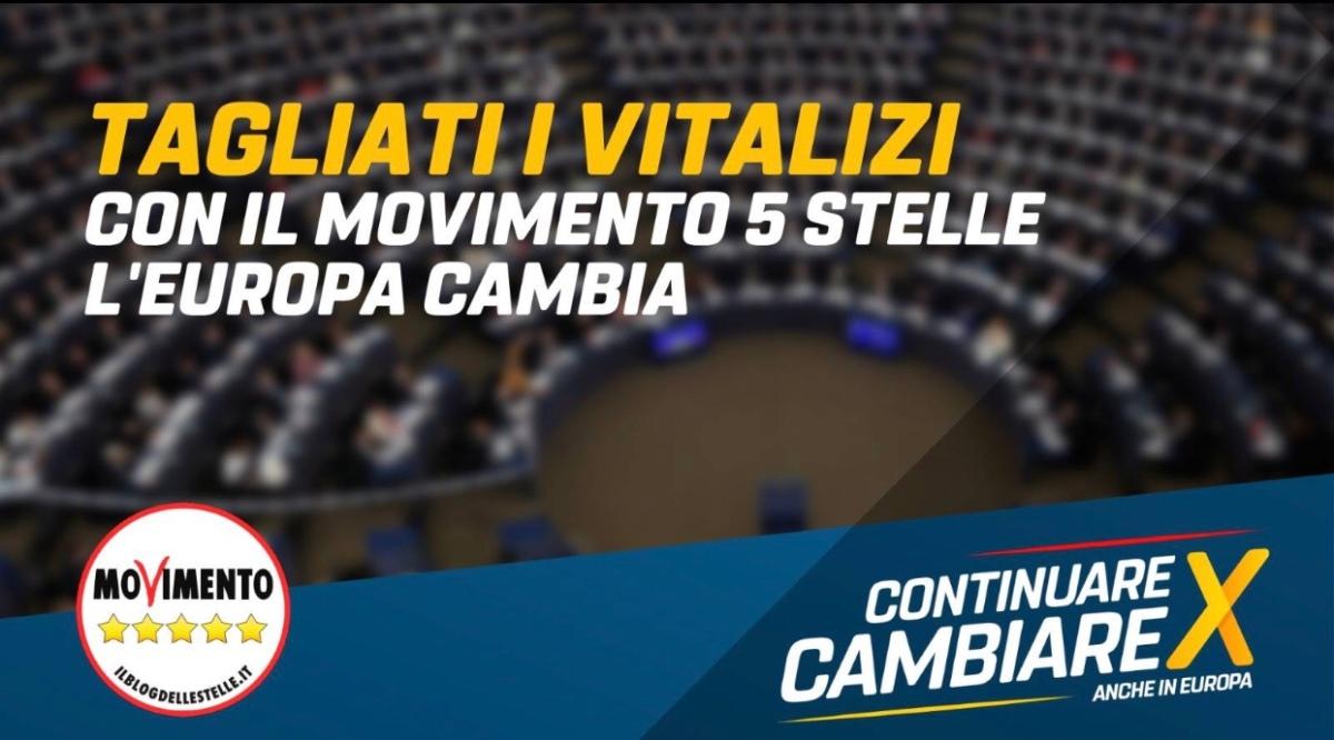 Grazie al Movimento 5 Stelle il Parlamento europeo taglia i vitalizi: adesso via la pensione-privilegio