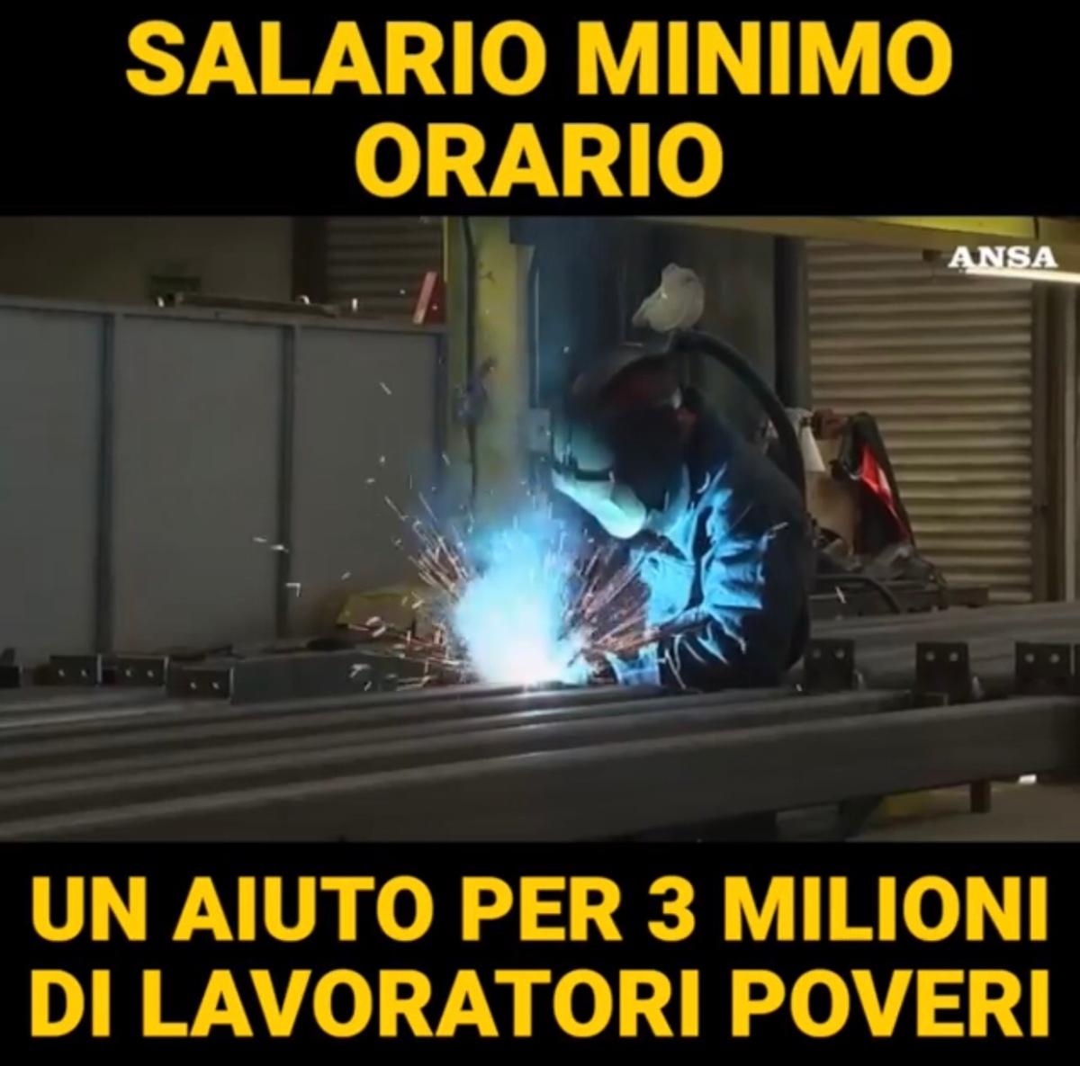 Con il Salario Minimo Orario buone notizie per 3 milioni dilavoratori