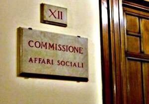 Questa settimana in Commissione AffariSociali