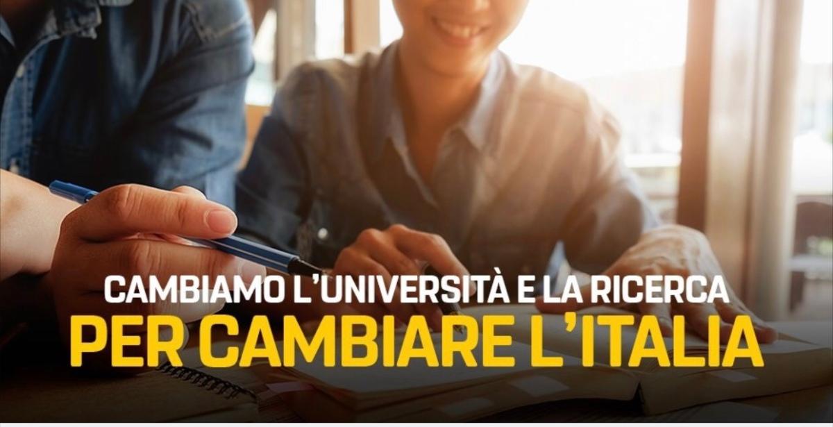Cambiamo l'Università e la Ricerca per cambiarel'Italia