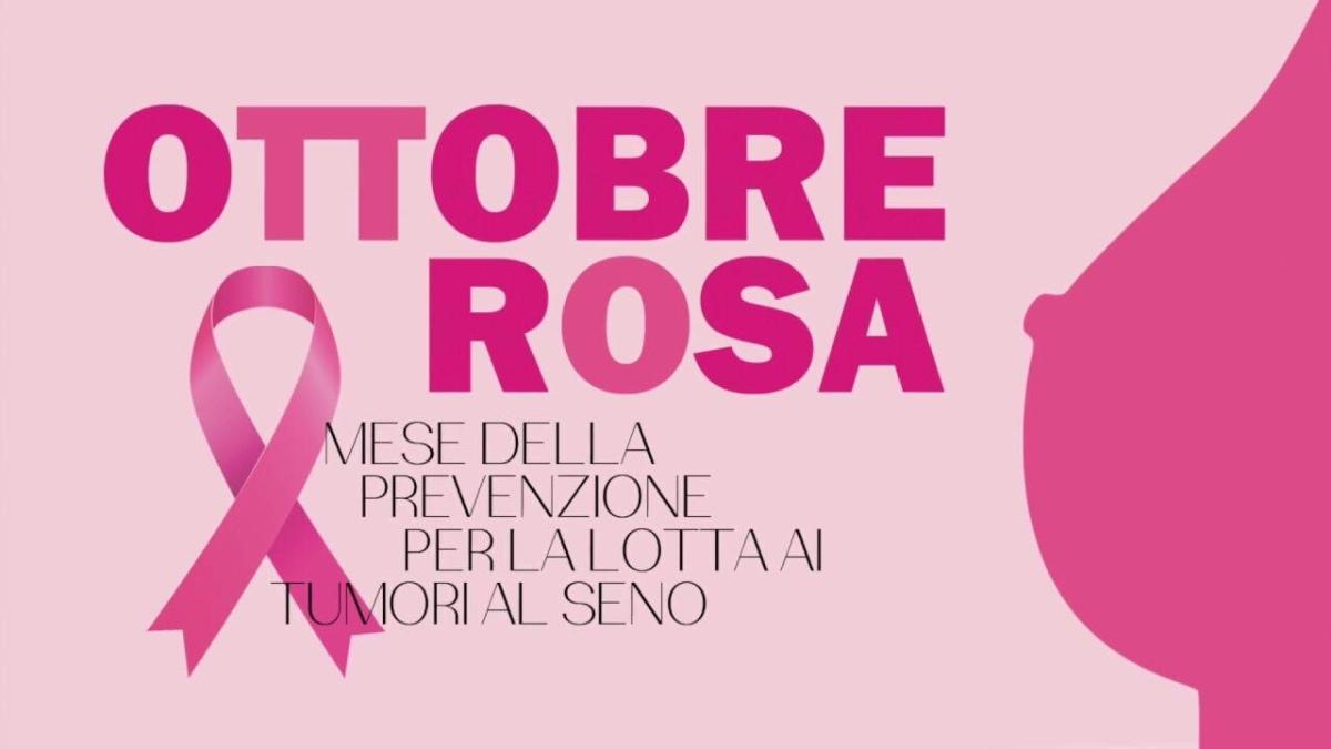 Campagna Ottobre Rosa 2019, Mese della prevenzione del tumore alseno